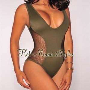Hot Miami Styles one piece swimsuit